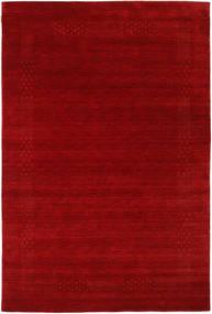 Loribaf Loom Beta - Κόκκινα Χαλι 190X290 Σύγχρονα Σκούρο Κόκκινο/Στο Χρώμα Της Σκουριάς (Μαλλί, Ινδικά)