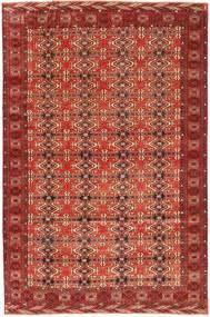 Turkaman Πατίνα Χαλι 210X316 Ανατολής Χειροποιητο Σκούρο Κόκκινο (Μαλλί, Περσικά/Ιρανικά)