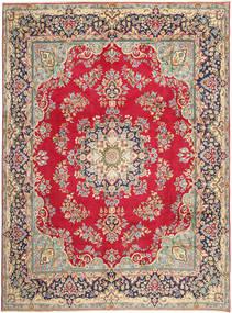 Kerman Χαλι 292X387 Ανατολής Χειροποιητο Kόκκινα/Σκούρο Γκρι Μεγαλα (Μαλλί, Περσικά/Ιρανικά)
