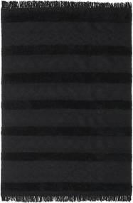 Κιλίμ Berber Ibiza - Μαύρο Χαλι 300X400 Σύγχρονα Χειροποίητη Ύφανση Μαύρα Μεγαλα (Μαλλί, Ινδικά)