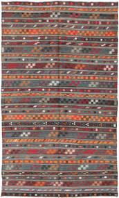 Κιλίμ Τουρκία Χαλι 180X303 Ανατολής Χειροποίητη Ύφανση Σκούρο Κόκκινο/Σκούρο Γκρι (Μαλλί, Τουρκικά)
