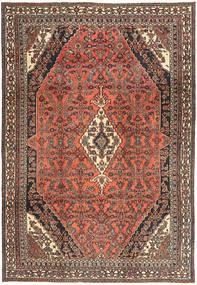Hamadan Shahrbaf Πατίνα Χαλι 233X334 Ανατολής Χειροποιητο Σκούρο Κόκκινο/Σκούρο Γκρι (Μαλλί, Περσικά/Ιρανικά)