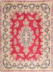 Kerman Χαλι 292X400 Ανατολής Χειροποιητο Στο Χρώμα Της Σκουριάς/Σκούρο Μπεζ Μεγαλα (Μαλλί, Περσικά/Ιρανικά)