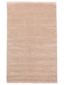 Χειροκίνητου Αργαλειού Fringes - Soft Rose Χαλι 160X230 Σύγχρονα Ανοιχτό Ροζ/Μπεζ (Μαλλί, Ινδικά)
