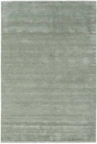 Χειροκίνητου Αργαλειού Fringes - Soft Teal Χαλι 300X400 Σύγχρονα Ανοιχτό Πράσινο/Σκούρο Γκρι Μεγαλα (Μαλλί, Ινδικά)