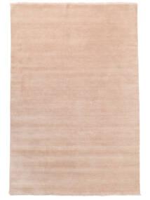 Χειροκίνητου Αργαλειού Fringes - Soft Rose Χαλι 200X300 Σύγχρονα Ανοιχτό Ροζ/Μπεζ (Μαλλί, Ινδικά)