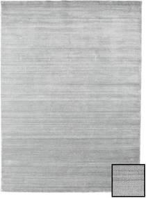 Μπαμπού Grass - Γκρι Χαλι 210X290 Σύγχρονα Ανοιχτό Γκρι (Μαλλί/Μπαμπού Μετάξι, Τουρκικά)