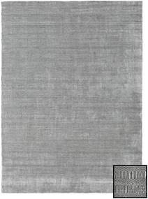 Μπαμπού Grass - Black_ Γκρι Χαλι 210X290 Σύγχρονα Ανοιχτό Γκρι (Μαλλί/Μπαμπού Μετάξι, Τουρκικά)