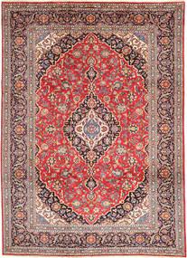 Keshan Χαλι 250X340 Ανατολής Χειροποιητο Στο Χρώμα Της Σκουριάς/Καφέ Μεγαλα (Μαλλί, Περσικά/Ιρανικά)