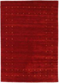 Loribaf Loom Delta - Κόκκινα Χαλι 160X230 Σύγχρονα Σκούρο Κόκκινο/Στο Χρώμα Της Σκουριάς (Μαλλί, Ινδικά)