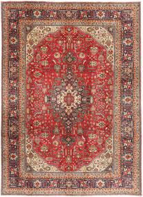 Tabriz Χαλι 200X281 Ανατολής Χειροποιητο Σκούρο Κόκκινο/Ανοιχτό Καφέ (Μαλλί, Περσικά/Ιρανικά)