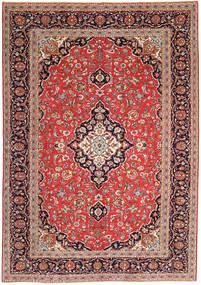 Keshan Πατίνα Χαλι 247X350 Ανατολής Χειροποιητο Καφέ/Στο Χρώμα Της Σκουριάς (Μαλλί, Περσικά/Ιρανικά)