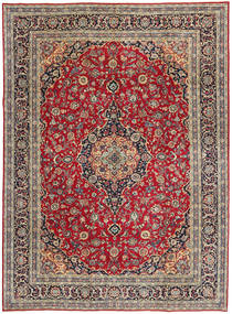 Keshan Πατίνα Χαλι 247X337 Ανατολής Χειροποιητο Σκούρο Κόκκινο/Kόκκινα (Μαλλί, Περσικά/Ιρανικά)