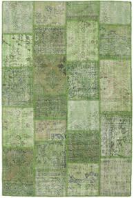 Patchwork Χαλι 158X236 Σύγχρονα Χειροποιητο Λαδί/Ανοιχτό Πράσινο (Μαλλί, Τουρκικά)