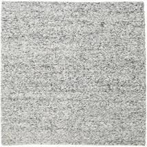 Bubbles - Melange Γκρι Χαλι 250X250 Σύγχρονα Τετράγωνο Ανοιχτό Γκρι/Σκούρο Γκρι Μεγαλα (Μαλλί, Ινδικά)