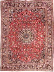 Mashad Χαλι 285X375 Ανατολής Χειροποιητο Σκούρο Κόκκινο/Ανοιχτό Ροζ Μεγαλα (Μαλλί, Περσικά/Ιρανικά)