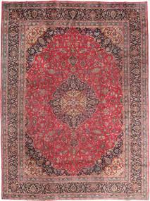 Mashad Χαλι 295X395 Ανατολής Χειροποιητο Σκούρο Κόκκινο/Καφέ Μεγαλα (Μαλλί, Περσικά/Ιρανικά)