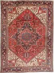 Heriz Χαλι 252X351 Ανατολής Χειροποιητο Σκούρο Κόκκινο/Στο Χρώμα Της Σκουριάς Μεγαλα (Μαλλί, Περσικά/Ιρανικά)
