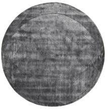 Brooklyn - Stormy Grey Χαλι Ø 200 Σύγχρονα Στρογγυλο Σκούρο Γκρι/Ανοιχτό Γκρι ( Ινδικά)