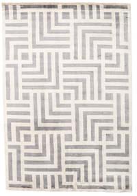 Maze Χαλι 170X240 Σύγχρονα Χειροποιητο Ανοιχτό Γκρι/Μπεζ ( Ινδικά)