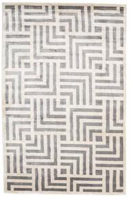 Maze Χαλι 200X300 Σύγχρονα Χειροποιητο Ανοιχτό Γκρι/Λευκό/Κρεμ ( Ινδικά)