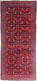 Hamadan Χαλι 137X320 Ανατολής Χειροποιητο Χαλι Διαδρομοσ Σκούρο Κόκκινο/Kόκκινα (Μαλλί, Περσικά/Ιρανικά)