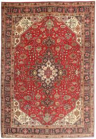 Tabriz Χαλι 200X294 Ανατολής Χειροποιητο Σκούρο Κόκκινο/Καφέ (Μαλλί, Περσικά/Ιρανικά)