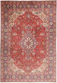 Tabriz Χαλι 200X298 Ανατολής Χειροποιητο Σκούρο Κόκκινο/Ανοιχτό Ροζ (Μαλλί, Περσικά/Ιρανικά)