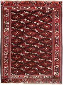Turkaman Χαλι 214X294 Ανατολής Χειροποιητο Σκούρο Κόκκινο/Σκούρο Καφέ (Μαλλί, Περσικά/Ιρανικά)