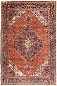 Tabriz Χαλι 202X305 Ανατολής Χειροποιητο Σκούρο Κόκκινο/Σκούρο Καφέ (Μαλλί, Περσικά/Ιρανικά)