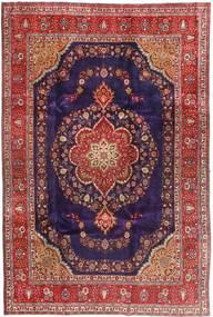 Tabriz Χαλι 240X358 Ανατολής Χειροποιητο Σκούρο Κόκκινο/Σκούρο Μωβ (Μαλλί, Περσικά/Ιρανικά)