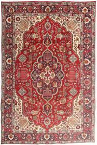 Tabriz Χαλι 194X300 Ανατολής Χειροποιητο Σκούρο Κόκκινο/Στο Χρώμα Της Σκουριάς (Μαλλί, Περσικά/Ιρανικά)