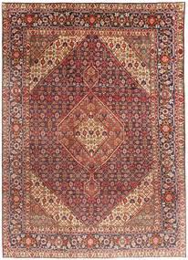Tabriz Χαλι 203X291 Ανατολής Χειροποιητο Σκούρο Κόκκινο/Ανοιχτό Καφέ (Μαλλί, Περσικά/Ιρανικά)