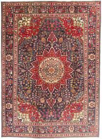Tabriz Χαλι 212X292 Ανατολής Χειροποιητο Σκούρο Κόκκινο/Σκούρο Καφέ (Μαλλί, Περσικά/Ιρανικά)