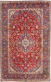 Yazd Χαλι 198X315 Ανατολής Χειροποιητο Σκούρο Κόκκινο (Μαλλί, Περσικά/Ιρανικά)