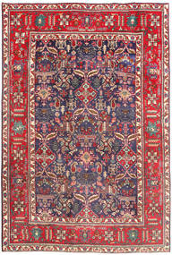 Tabriz Χαλι 194X290 Ανατολής Χειροποιητο Σκούρο Κόκκινο/Μπεζ (Μαλλί, Περσικά/Ιρανικά)