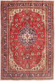 Tabriz Χαλι 196X288 Ανατολής Χειροποιητο Σκούρο Κόκκινο/Ανοιχτό Καφέ (Μαλλί, Περσικά/Ιρανικά)