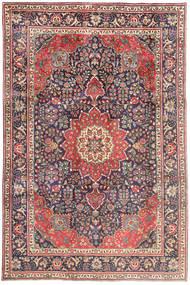 Tabriz Χαλι 209X314 Ανατολής Χειροποιητο Ανοιχτό Γκρι/Μπεζ (Μαλλί, Περσικά/Ιρανικά)