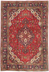Tabriz Χαλι 202X298 Ανατολής Χειροποιητο Σκούρο Κόκκινο/Σκούρο Καφέ (Μαλλί, Περσικά/Ιρανικά)