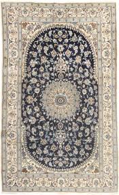 Nain Χαλι 185X310 Ανατολής Χειροποιητο Ανοιχτό Γκρι/Σκούρο Γκρι (Μαλλί, Περσικά/Ιρανικά)