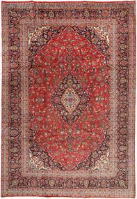 Yazd Χαλι 243X358 Ανατολής Χειροποιητο Σκούρο Κόκκινο/Σκούρο Καφέ (Μαλλί, Περσικά/Ιρανικά)