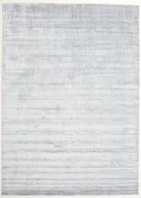 Μπαμπού Μετάξι Loom - Γκρι Χαλι 250X350 Σύγχρονα Λευκό/Κρεμ/Ανοιχτό Γκρι Μεγαλα ( Ινδικά)