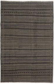 Κιλίμ Περσία Χαλι 200X300 Ανατολής Χειροποίητη Ύφανση Σκούρο Γκρι/Μαύρα (Μαλλί, Περσικά/Ιρανικά)