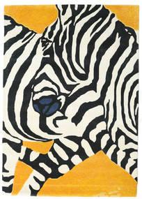 Zebra - 2018 Χαλι 160X230 Σύγχρονα Μπεζ/Μαύρα (Μαλλί, Ινδικά)