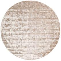 Crystal - Soft_Beige Χαλι Ø 250 Σύγχρονα Στρογγυλο Λευκό/Κρεμ/Ανοιχτό Γκρι Μεγαλα ( Ινδικά)