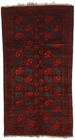 Afghan Khal Mohammadi Χαλι 160X301 Ανατολής Χειροποιητο Σκούρο Κόκκινο (Μαλλί, Αφγανικά)