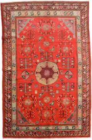 Samarkand Βιντάζ Χαλι 161X250 Ανατολής Χειροποιητο Στο Χρώμα Της Σκουριάς/Σκούρο Κόκκινο (Μαλλί, Κινέζικα)