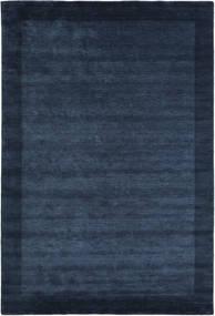 Χειροκίνητου Αργαλειού Frame - Σκούρο Μπλε Χαλι 300X400 Σύγχρονα Σκούρο Μπλε/Μπλε Μεγαλα (Μαλλί, Ινδικά)
