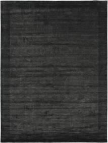 Χειροκίνητου Αργαλειού Frame - Μαύρα/Σκούρο Γκρι Χαλι 300X400 Σύγχρονα Σκούρο Γκρι/Σκούρο Πράσινο Μεγαλα (Μαλλί, Ινδικά)