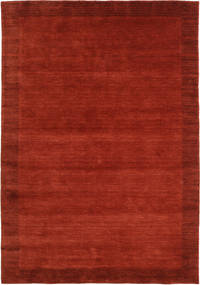 Χειροκίνητου Αργαλειού Frame - Στο Χρώμα Της Σκουριάς Χαλι 160X230 Σύγχρονα Στο Χρώμα Της Σκουριάς/Kόκκινα (Μαλλί, Ινδικά)